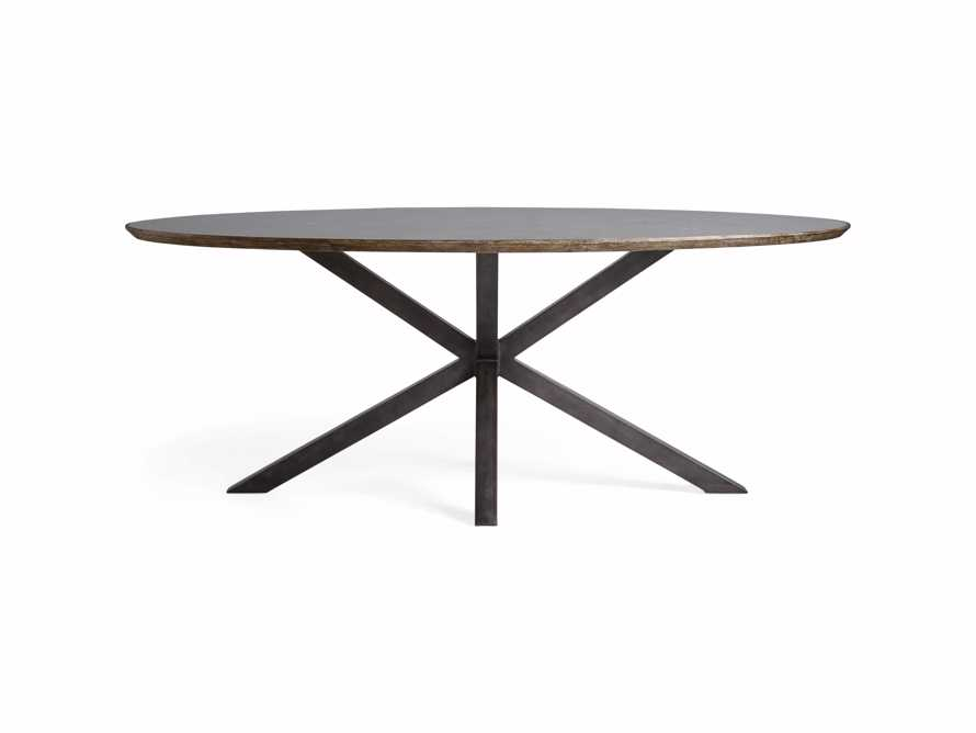 "Meridian 79"" Oval Dining Table"