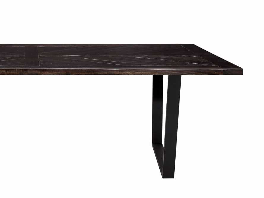 "Nobelle 70"" Dining Table with Hardyn Base in Black"