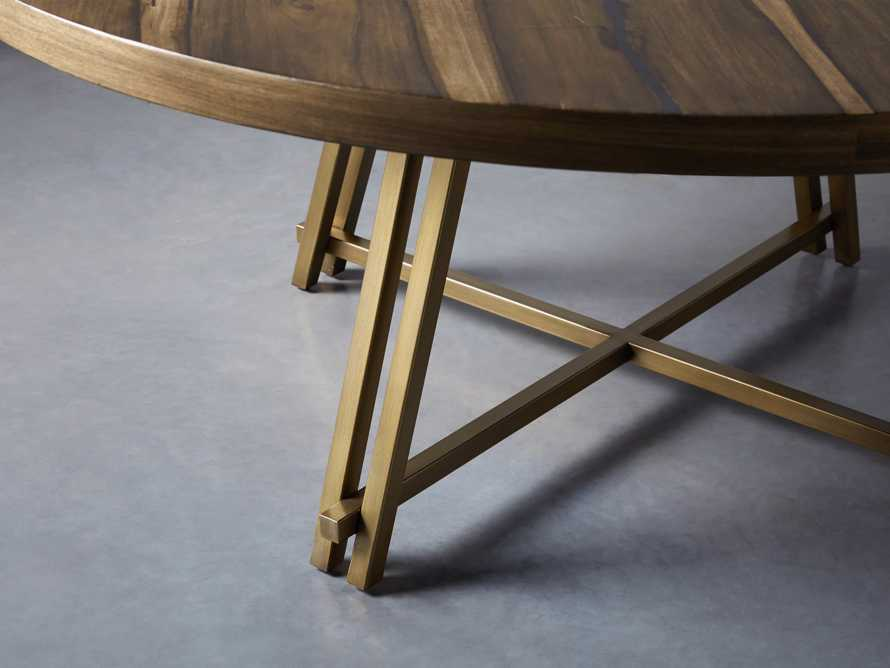 "Nika 70"" Round Dining Table, slide 2 of 6"