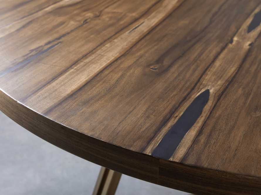 "Nika 70"" Round Dining Table, slide 3 of 6"
