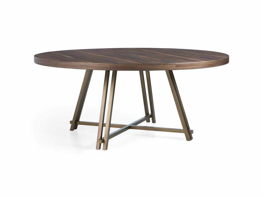 "Nika 70"" Round Dining Table, slide 5 of 6"