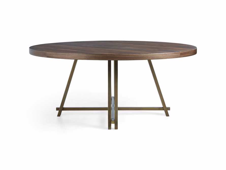 "Nika 70"" Round Dining Table, slide 6 of 6"
