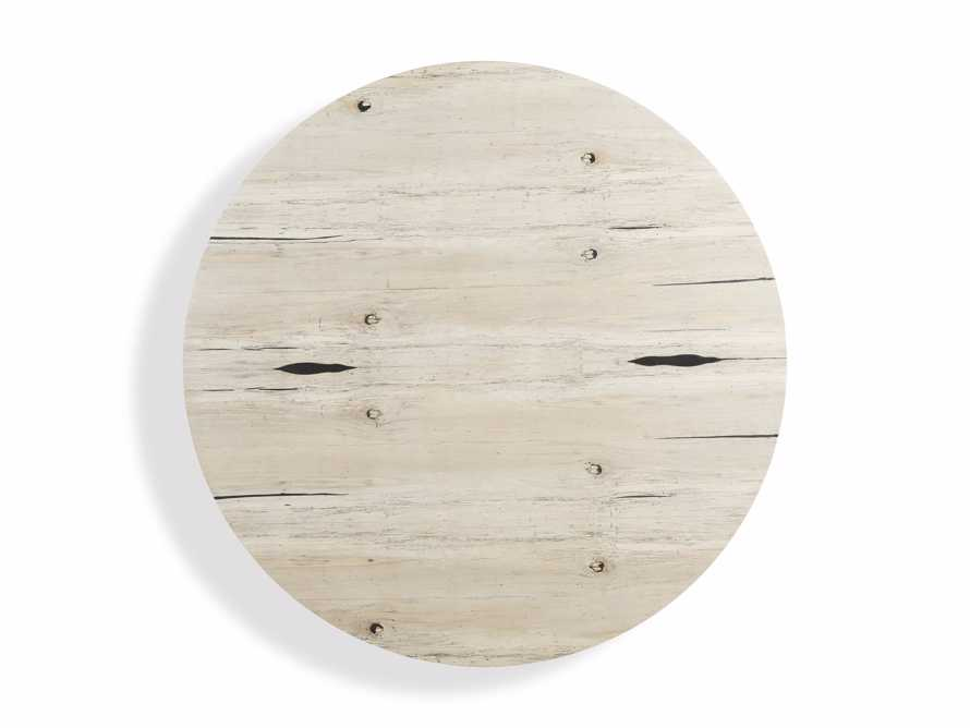 "Nika 70"" Spalted Oak Round Dining Table, slide 4 of 4"