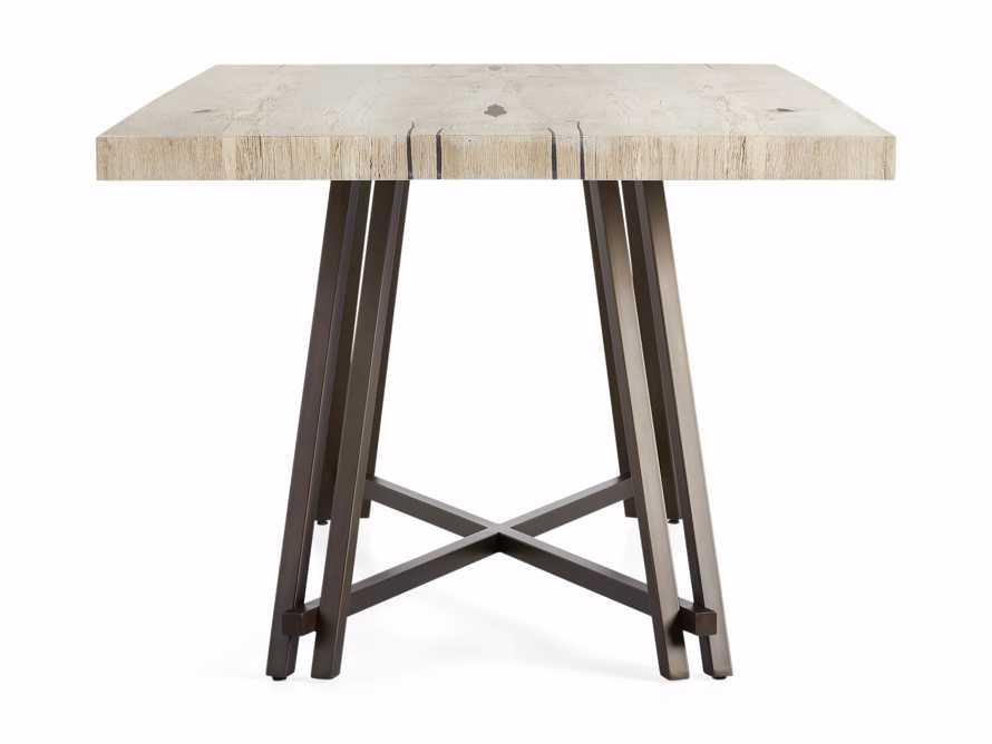 "Nika 72"" Spalted Oak Dining Table, slide 6 of 6"