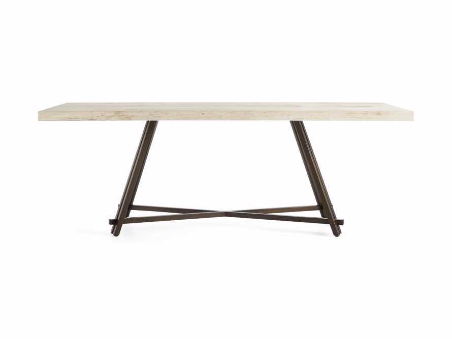 "Nika 72"" Spalted Oak Dining Table, slide 5 of 6"