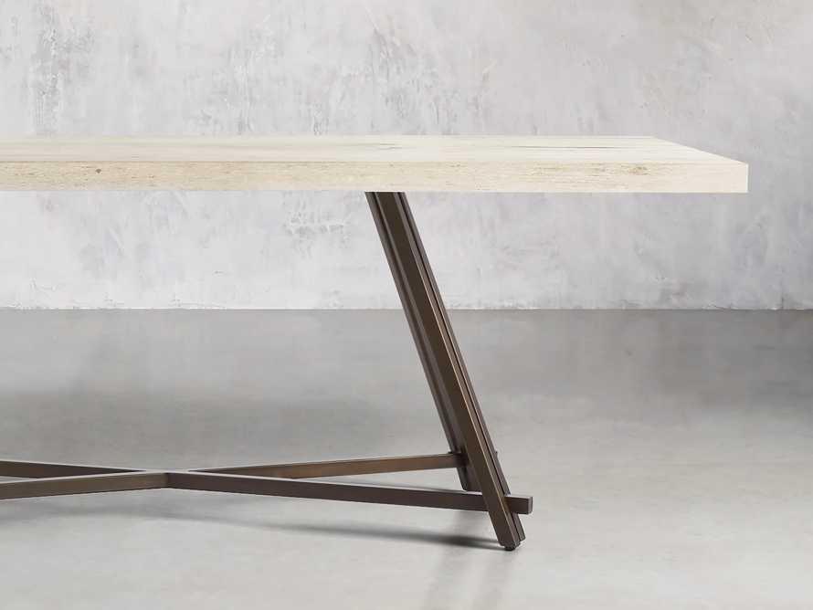 "Nika 72"" Spalted Oak Dining Table, slide 2 of 6"