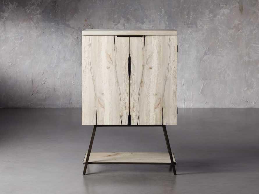 """Nika 36"""" Spalted Oak Bar Cabinet, slide 1 of 10"""