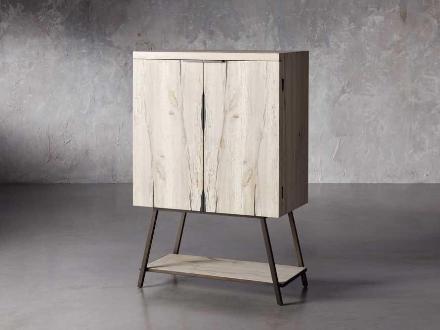 """Nika 36"""" Spalted Oak Bar Cabinet, slide 2 of 10"""