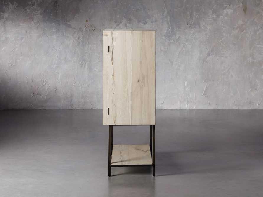"""Nika 36"""" Spalted Oak Bar Cabinet, slide 4 of 10"""