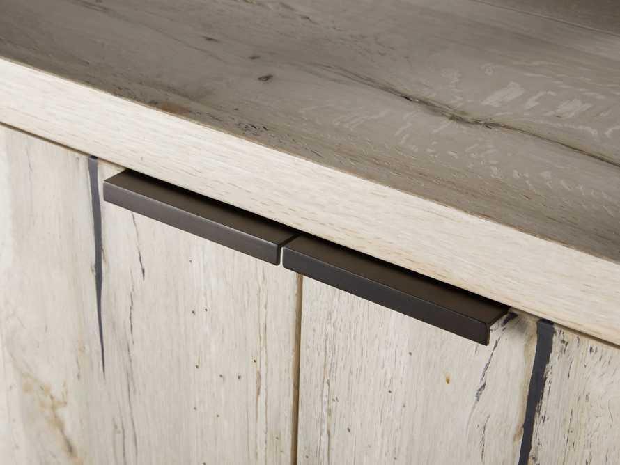 """Nika 36"""" Spalted Oak Bar Cabinet, slide 5 of 10"""