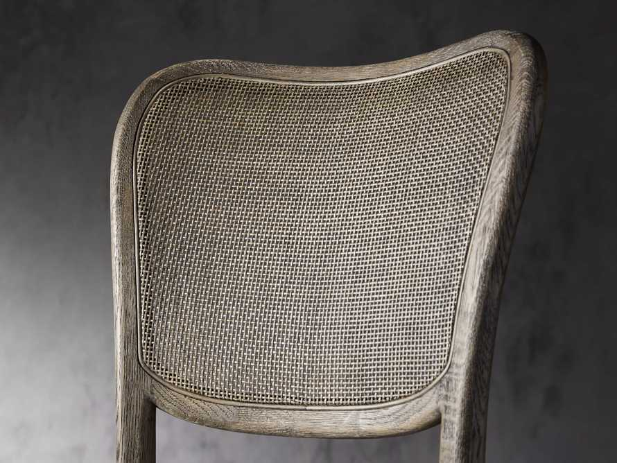 Noa Barstool in Cinder with Linen Natural seat, slide 5 of 7