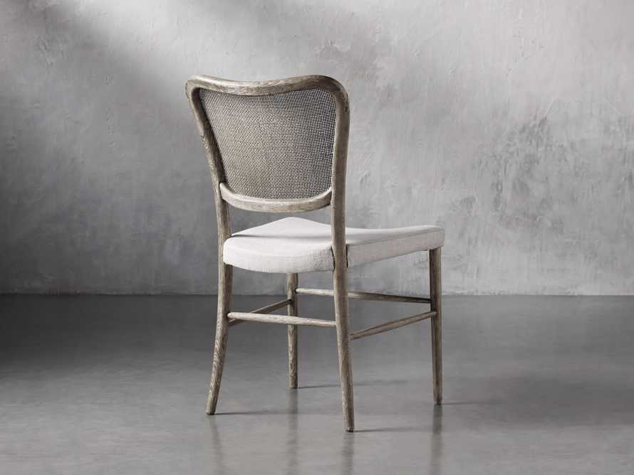Noa Dining Chair in Stone Vintage with Linen Natural seat, slide 5 of 9