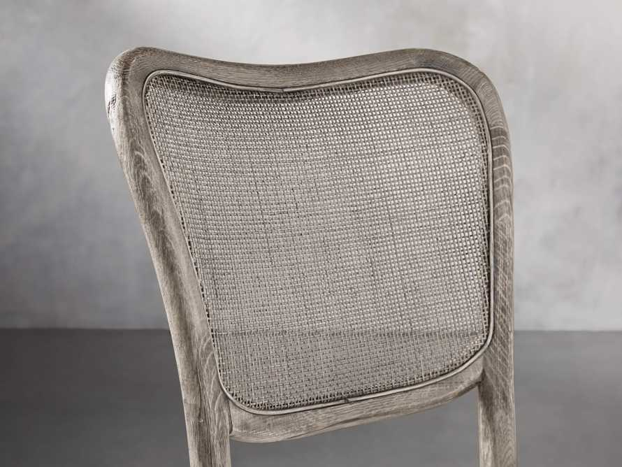 Noa Dining Chair in Stone Vintage with Linen Natural seat, slide 6 of 9
