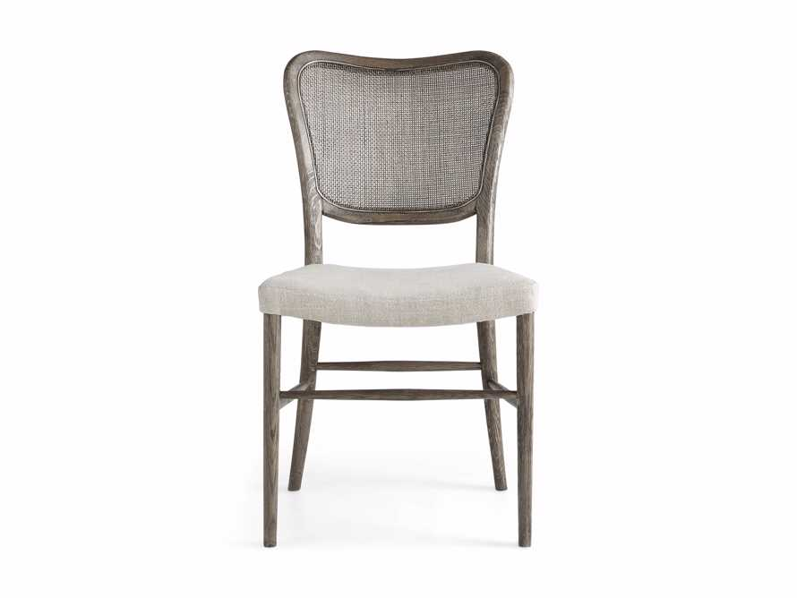 Noa Dining Chair in Stone Vintage with Linen Natural seat, slide 8 of 9