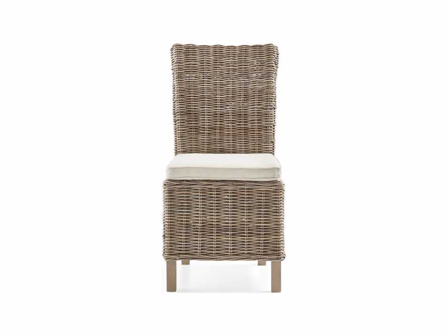 """Oceano 20"""" Dining Side Chair With Cushion"""