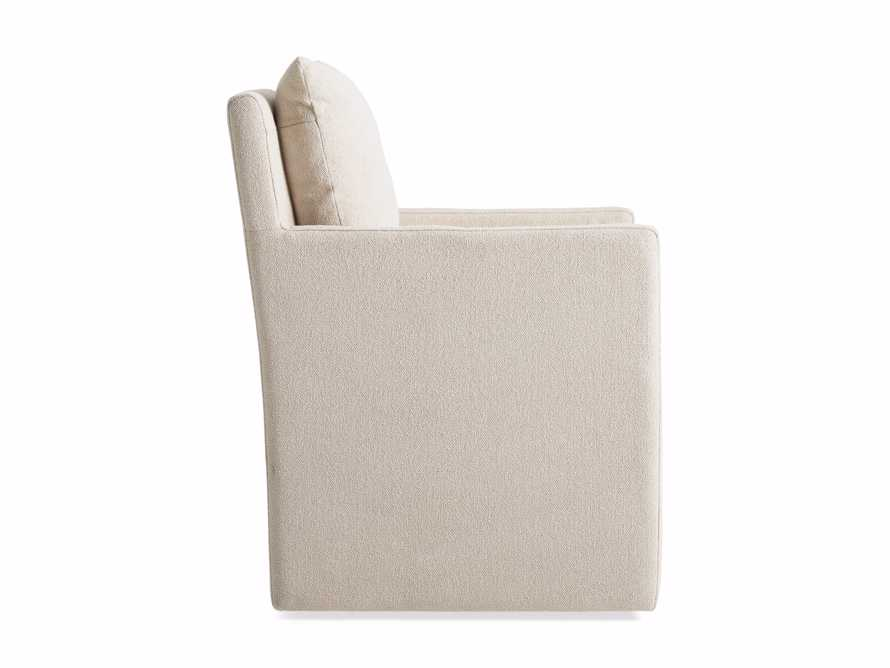 """Oscar Upholstered 24"""" Dining Arm Chair in Zona Sand, slide 9 of 9"""