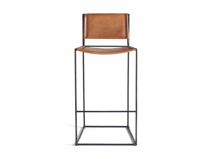 "Oeste 19"" Barstool in Honey Pumpkin, slide 9 of 10"