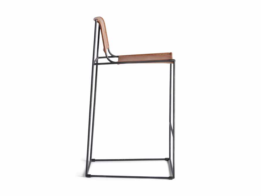 "Oeste 19"" Barstool in Honey Pumpkin, slide 10 of 10"