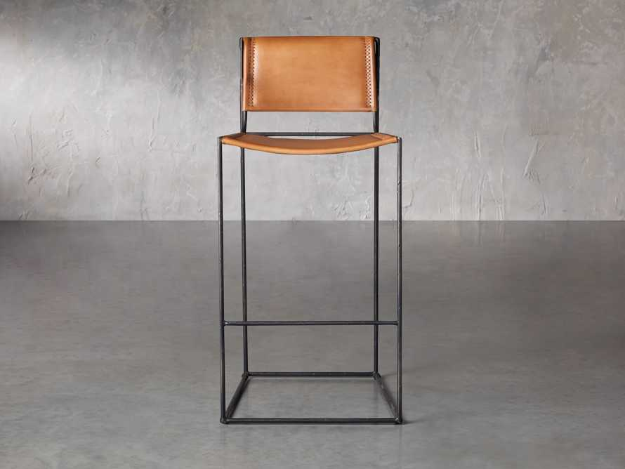 "Oeste 19"" Barstool in Honey Pumpkin, slide 2 of 10"