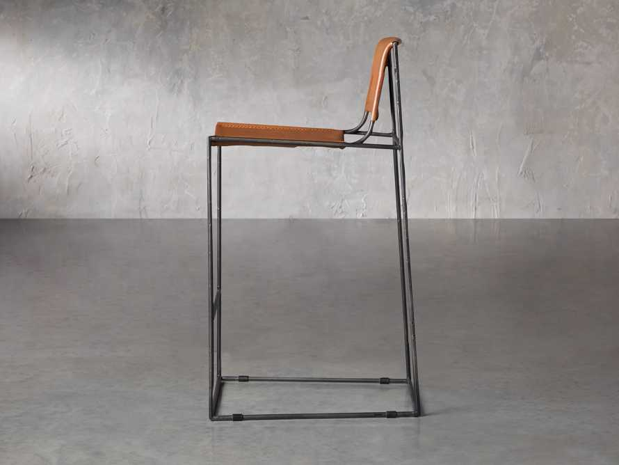 "Oeste 19"" Barstool in Honey Pumpkin, slide 4 of 10"