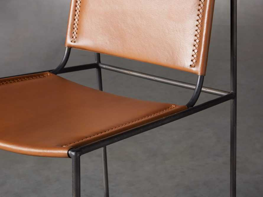 "Oeste 19"" Barstool in Honey Pumpkin, slide 6 of 10"