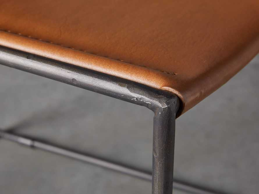 "Oeste 19"" Barstool in Honey Pumpkin, slide 8 of 10"