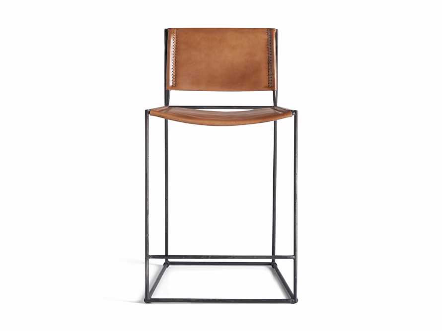 "Oeste 19"" Counter Stool in Honey Pumpkin, slide 8 of 9"