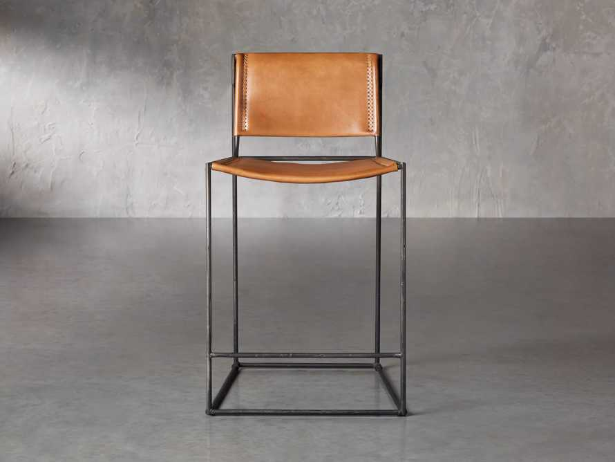 "Oeste 19"" Counter Stool in Honey Pumpkin, slide 1 of 9"