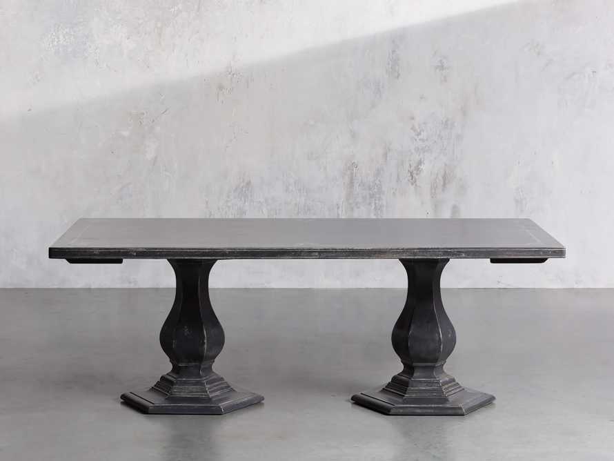 """Pavia 78"""" Bell'Arte Rectangle Extension Dining Table, slide 2 of 10"""