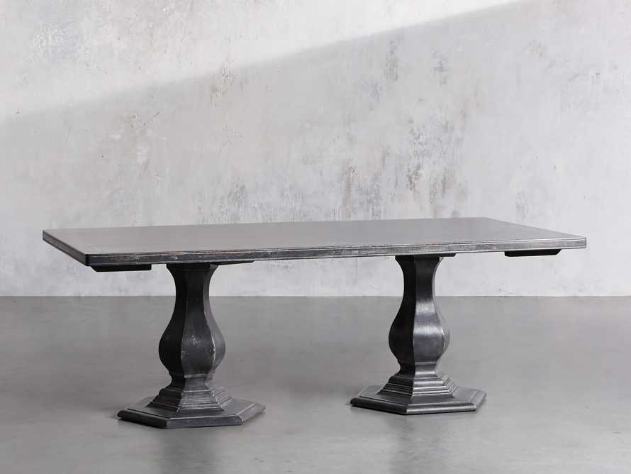 """Pavia 78"""" Bell'Arte Rectangle Extension Dining Table, slide 3 of 10"""