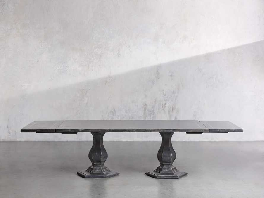 """Pavia 78"""" Bell'Arte Rectangle Extension Dining Table, slide 4 of 10"""