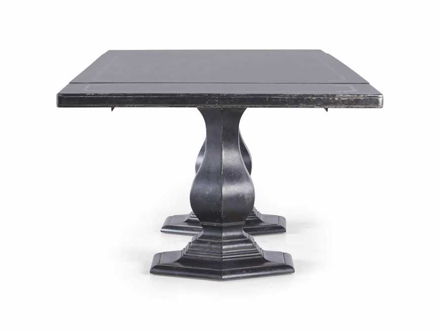 """Pavia 78"""" Bell'Arte Rectangle Extension Dining Table, slide 10 of 10"""