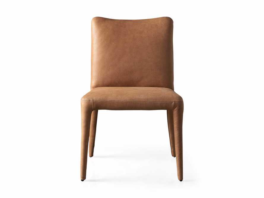 """Pelle 23"""" Dining Side Chair Burnham Camel, slide 7 of 8"""