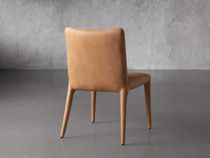 """Pelle 23"""" Dining Side Chair Burnham Camel, slide 5 of 8"""
