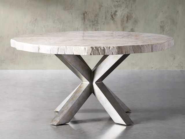 Petra Round Dining Table Arhaus