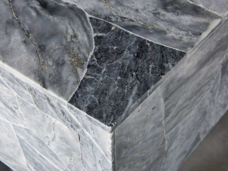 "Petra 65"" Grey Marble Server, slide 6 of 11"