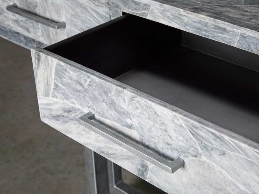 "Petra 65"" Grey Marble Server, slide 8 of 11"