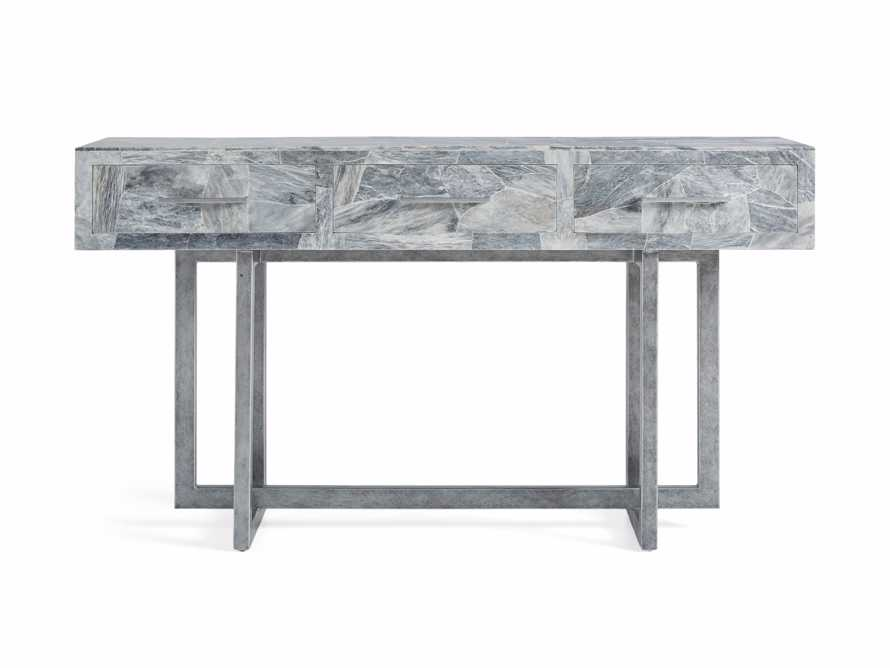 "Petra 65"" Grey Marble Server, slide 9 of 11"