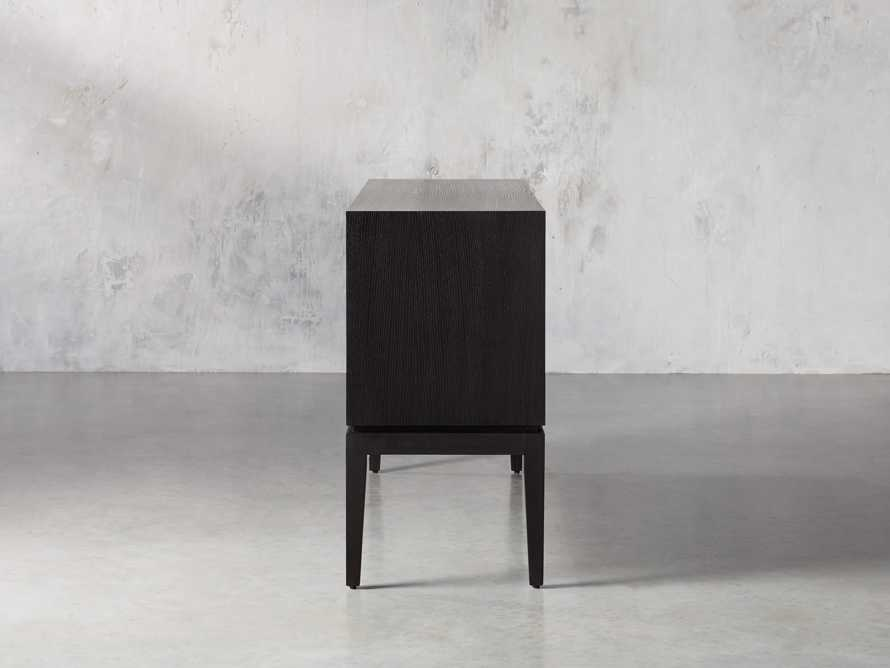 "Raja 60"" Bar Cabinet in Panther Black, slide 6 of 16"