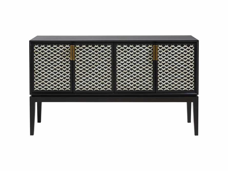 "Raja 60"" Bar Cabinet in Panther Black, slide 14 of 16"