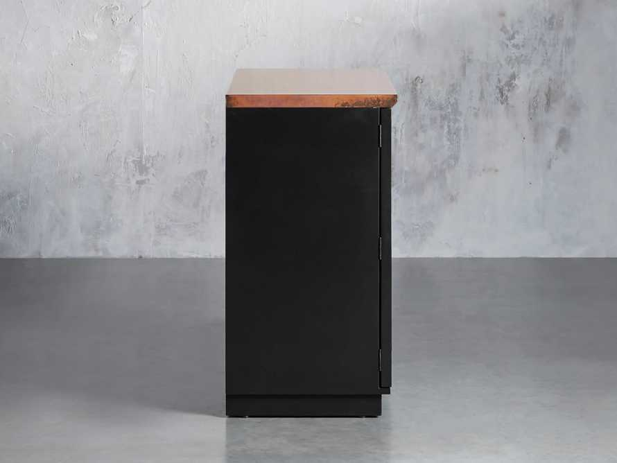 Renata Buffet in Grooved Copper