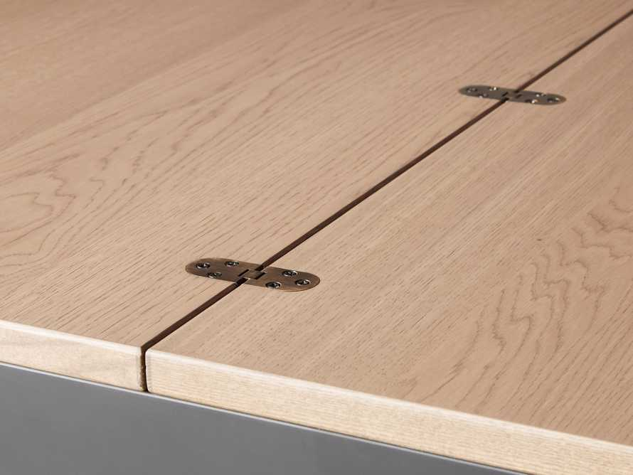 "Rho 39"" Flip-Top Counter Table, slide 5 of 6"
