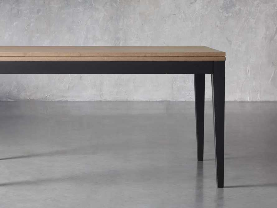 "Rho 60"" Flip-Top Dining Table, slide 2 of 13"