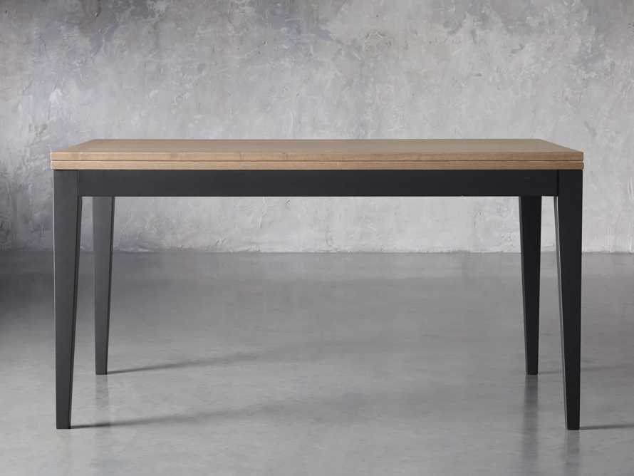 "Rho 60"" Flip-Top Dining Table, slide 3 of 13"