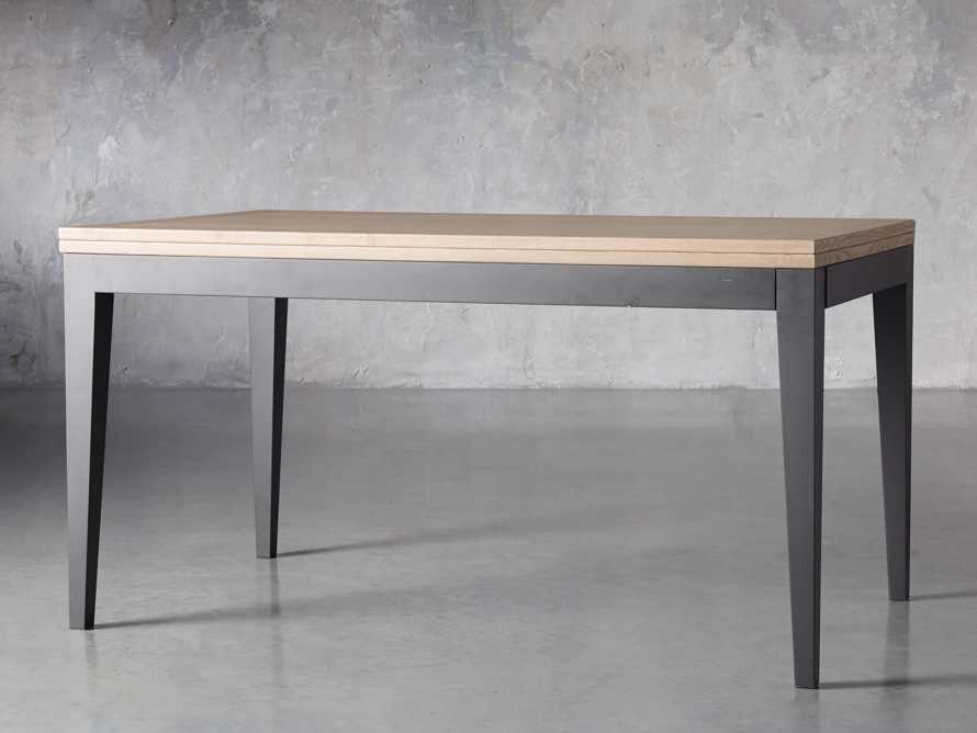 "Rho 60"" Flip-Top Dining Table, slide 5 of 13"