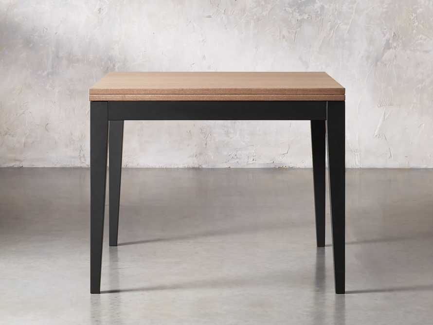 "Rho 39"" Square Flip-Top Dining Table"