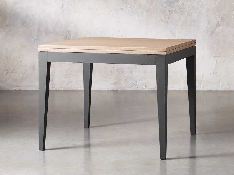 "Rho 39"" Square Flip-Top Dining Table, slide 2 of 10"