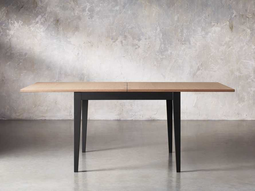 "Rho 39"" Square Flip-Top Dining Table, slide 3 of 10"