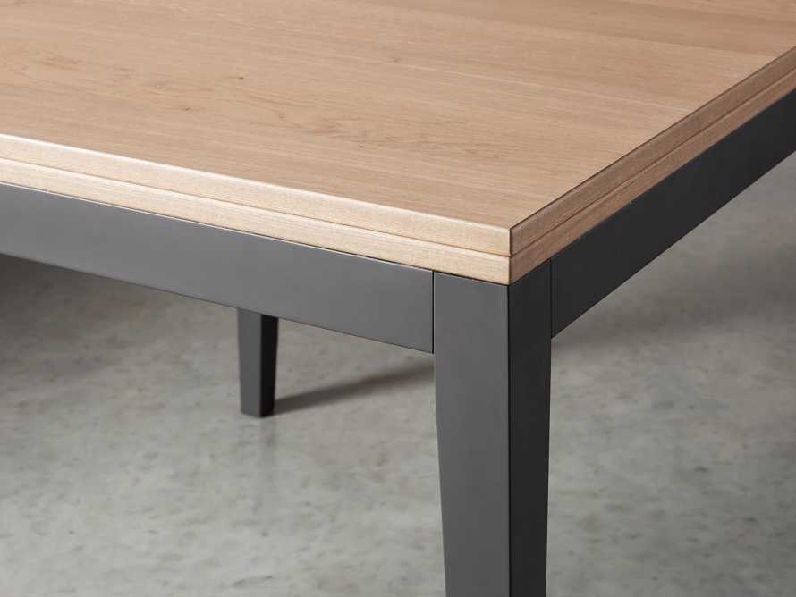 "Rho 39"" Square Flip-Top Dining Table, slide 4 of 10"
