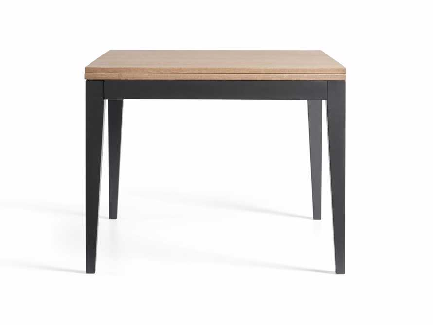 "Rho 39"" Square Flip-Top Dining Table, slide 9 of 10"